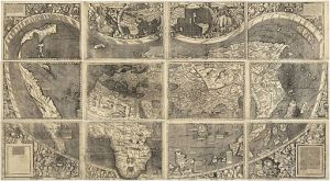 Waldseemüller Map, 1507 [Wikipedia Commons]